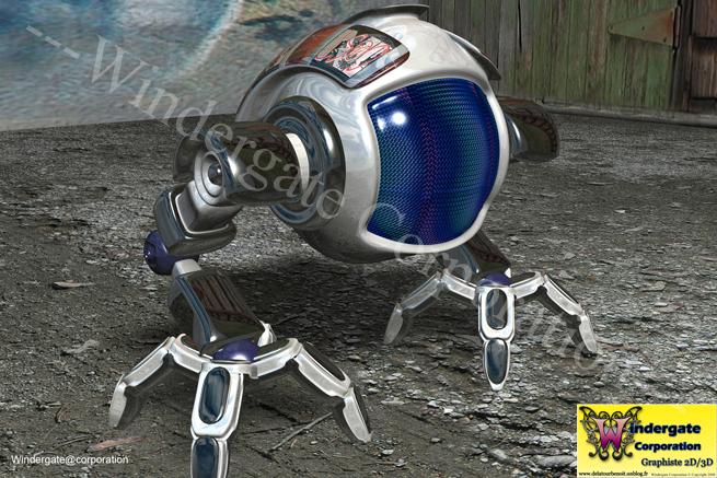 mon book  u00bb robot futuriste