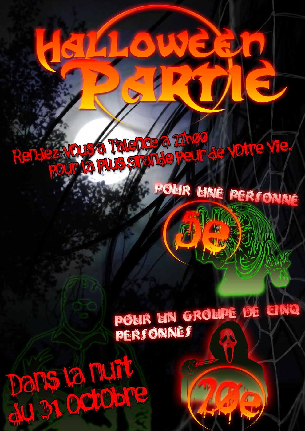 mon book  u00bb flyer  u00bb soir u00e9e halloween